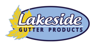 Lakeside Gutter Products   Contractors Job Site Seamless Gutter Delivery Service