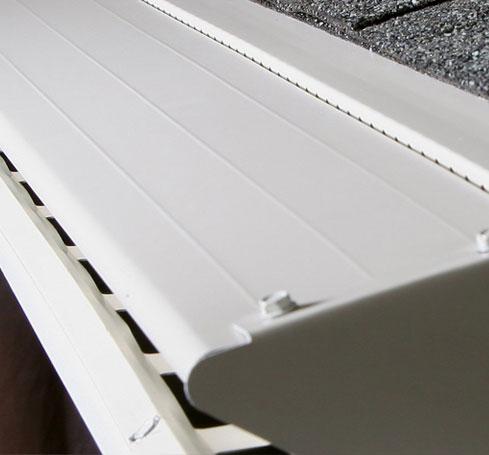 LeafX Clean Gutter System